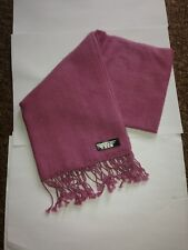 Scarf (Pink )Hand made in Nepal.