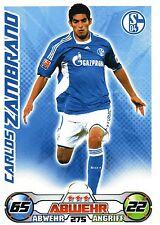 275 Carlos Zambrano - FC Schalke 04 - TOPPS Match Attax 2009/2010
