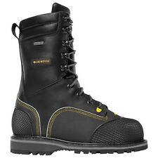 "Lacrosse Longwall II 10"" 200G MET/NMT CSA Men's Mining Boots $310 NEW US 9 Wide"