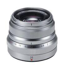 Fuji Fujifilm Xf-35mm F2.0 WR Lens - silver