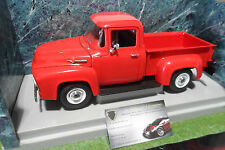 FORD F-100 Pick Up 1956 rouge o 1/18 AMERICAN MUSCLE ERTL 7771 voiture miniature