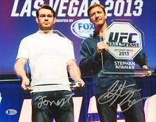 Forrest Griffin Stephan Bonnar Signed 11x14 Photo BAS COA UFC Ultimate Fighter 4