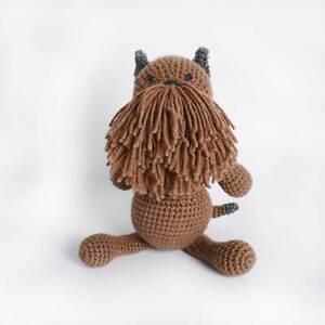 Brussels Griffon, Bruss, Griff Dog Amigurumi Crochet Stuffed Toy High Quality