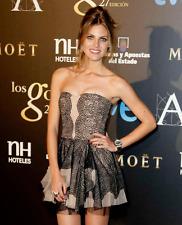 $448 BCBG Norelle Black Strapless Lace Cocktail Dress 4 S Small Amaia Salamanca