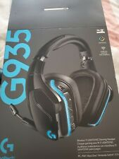 Logitech G935 Headband Gaming Headset - Black/Blue