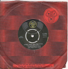 "Deep Feeling Sweat, Dust And Red Wine UK 45 7"" single +Turn Around"