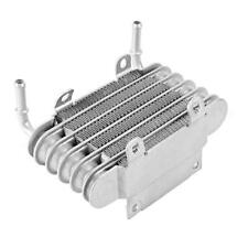 Motorcycle Engine Small Fuel Oil Cooler Silver Universal for Motorcycle Modified