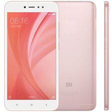 Teléfonos móviles libres Xiaomi Redmi Note 5 de color oro rosa con Android