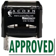 MaxStamp - Self-Inking Approved Stamp (Red Ink)