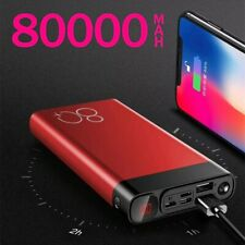 Power Bank 80.000 mAh Caricatore Portatile Samsung Xiaomi Iphone Android
