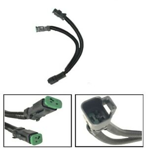New Y-Shape Deutsch Dual Outputs Fog Light Adapter Connector For RDX TLX ATS