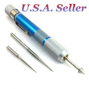 Deluxe Diamond Coated Bead Reamer Replacement 3pcs Beadsmith Jewelry Tool Supply