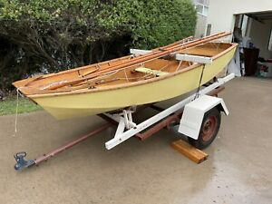 Mirror Yacht Dinghy Sailing Boat