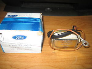 NOS Ford 1988-1989 Merkur Scorpio Rear Liftgate Solenoid Latch