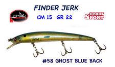 FINDER JERK MOLIX  150  col  #58 GHOST BLUE BACK