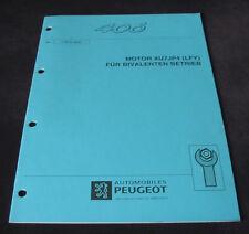 Werkstatthandbuch Peugeot 406 Motor XU7JP4 Bivalenten Antrieb Stand 09/1997