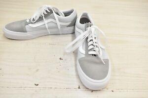 VANS Old Skool Skate/Casual Shoe, Men's 7 Women's 8.5, Blue/Gray