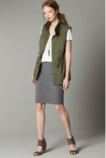 f05c80c8d97 NEW PLEIONE COTTON TWILL UTILITY CARGO MILITARY VEST XS (S 0 2 4)