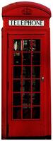SC-162 Englische Telefonzelle Phone Box Höhe 187cm Pappaufsteller 2D nicht 3D