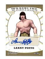Lanny Poffo 2016 Leaf Wrestling Signature Series Authentic Autograph Card WWE DW