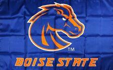Boise State University Broncos Flag 3x5 ft College Blue Banner Man-Cave Garage