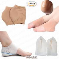 PEDIMEND Moisturizing Silicone Gel Heel Socks for Dry Hard Cracked Skin - UNISEX