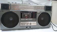 Rare 80s JVC RC-M50LB Boombox Stereo Radio Cassette Tape Recorder Ghettoblaster