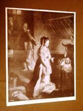 Il Presepio di Federigo Barrocci Galleria del Prado di Madrid nel 1912