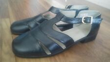 LADIES LEATHER SHOES sandals PEDICONFORT DAXON SIZE 6.5 UK 40 EUR worn once