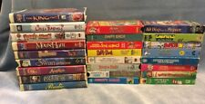 Lot Of 25 Children's Kids VHS Movies Daffy Duck Seuss Dennis Menace Rascals
