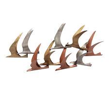 Metal Wall Art Birds in Flight 98cm
