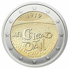 manueduc   IRLANDA  2019  2 Euros  Segunda  Conmemorativa Dáil Èireann  UNC