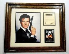 Goldeneye Movie Pierce Brosnan Framed Wall Print Bates Portrait mini poster Cert