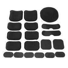 19pcs Soft EVA Foam Helmet Pads Replacement for Airsoft Tactics Military Helmet
