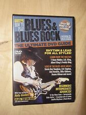 Stevie Ray Vaughn GW How to Play Blues & Blues Rock Guitar  DVD    New In Shrink