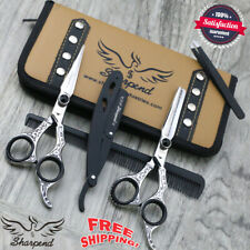 "Pro SHARPEND Barber Hair Cutting Thinning Scissors Shears Hairdressing 6.5"" AU"