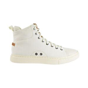 Polo Ralph Lauren Dleaney Canvas High Top Men's Shoes Egret 816735624-004