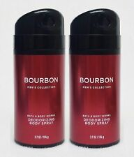 Bath & Body Works Men's Collection Bourbon Deodorizing Body Spray Mist Cologne