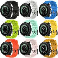 Silicone Bracelet de Montre Watch Band S/L Pour Suunto Spartan Sport Wrist HR