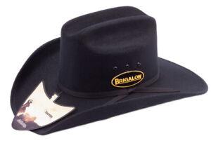 New Hat - Western - Dallas Felt Covered Black - [Code150] Cowboy Cowgirl Hat Bri