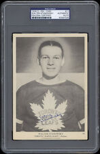 1939-40 V301-1 O-Pee-Chee #11 Walter Stanowski Autographed/Signed -- PSA/DNA