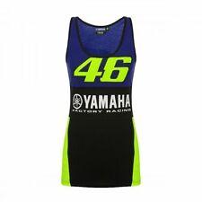 NEW Valentino Rossi 46 Moto GP YAMAHA Team Vest Tank Top WOMENS Ladies OFFICIAL