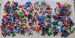 "Lot of Incomplete Hasbro Super Hero Mashers 6"" Body Parts Bundle. FREE UK POST."
