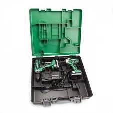 Hitachi KC18DGL/JA 18V Cordless Twin Kit Combi Drill and Impact Driver