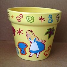 Disney Parks ALICE in WONDERLAND Flower & Garden Pot Planter CHESHIRE CAT