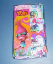 Trolls Dream Works Cotton Undies 7 Panties Underwear Toddler Girls 4T Multicolor