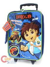 Go Diego Go Diego Rolling Luggage Pilot Suite Case Travel Trolley Bag