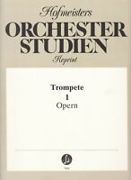 Orchester Studien, Reprint, Trompete, 1, Opern