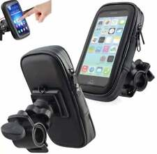 "Bicycle Motor Bike Waterproof Phone Case Mount Holder For phones up to 6.3"""