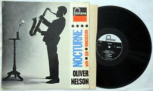 Oliver Nelson Lem Winchester Nocturne UK Mono Fontana LP record 688 201 ZL Rare